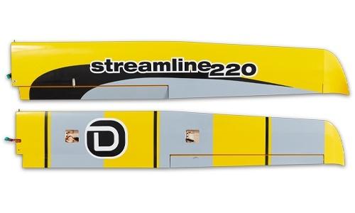 D-Power Streamline 220 - Tragfläche L+R