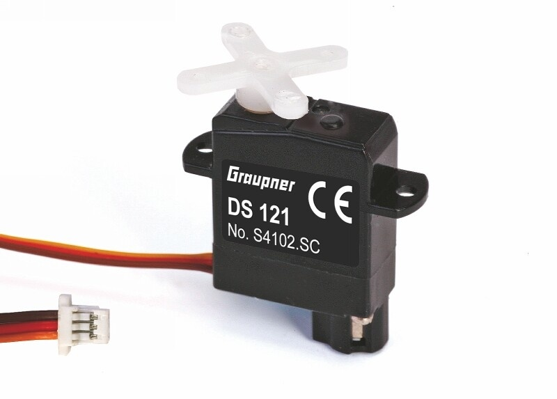 Graupner Servo DS 121 Micro 6 mm SC-Stecker 2,2 g