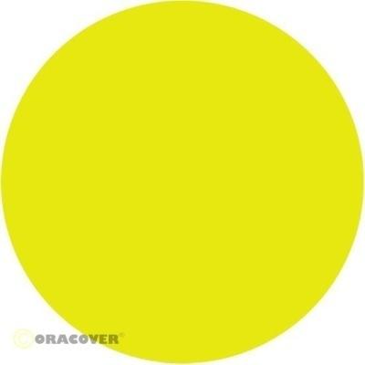 ORACOVER Bügelfolie fluoreszierend gelb