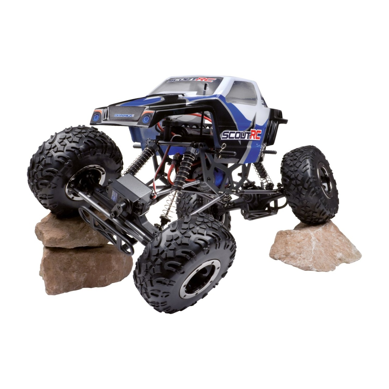 LRP Scout RC RTR 4WD Rock Crawler mit 2.4GHz RC-Anlage