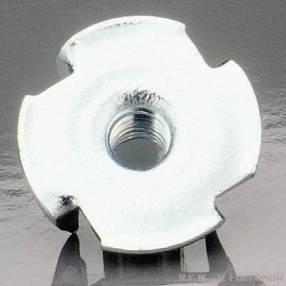 Einschlagmutter Stahl M 4 (10-er Packung)