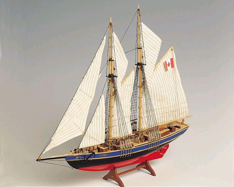 Krick Bluenose Universal-Baukasten BLUENOSE II Schiff