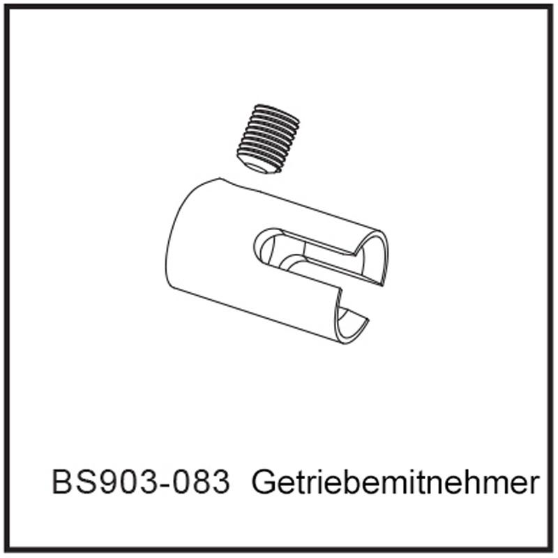 Getriebemitnehmer - BEAST BX / TX