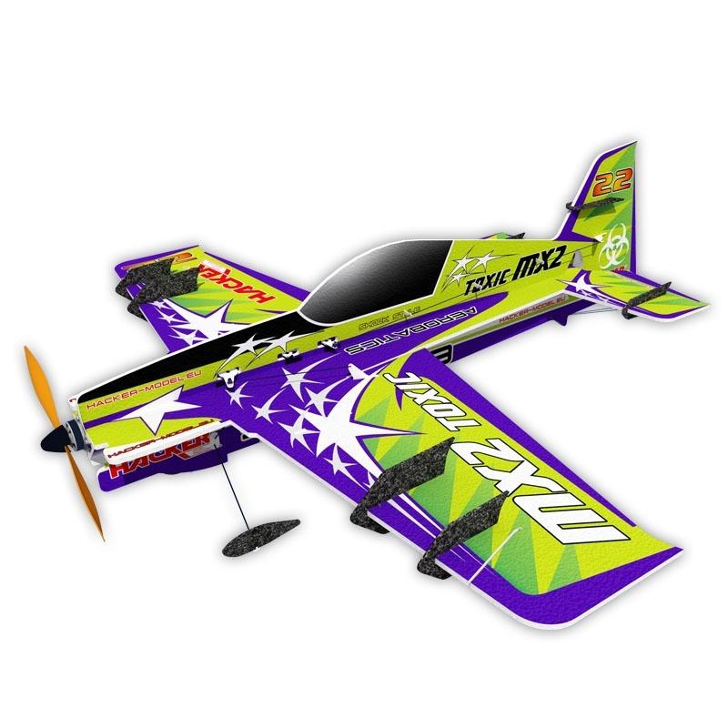 Hacker MX2 Toxic ARF - 81 cm