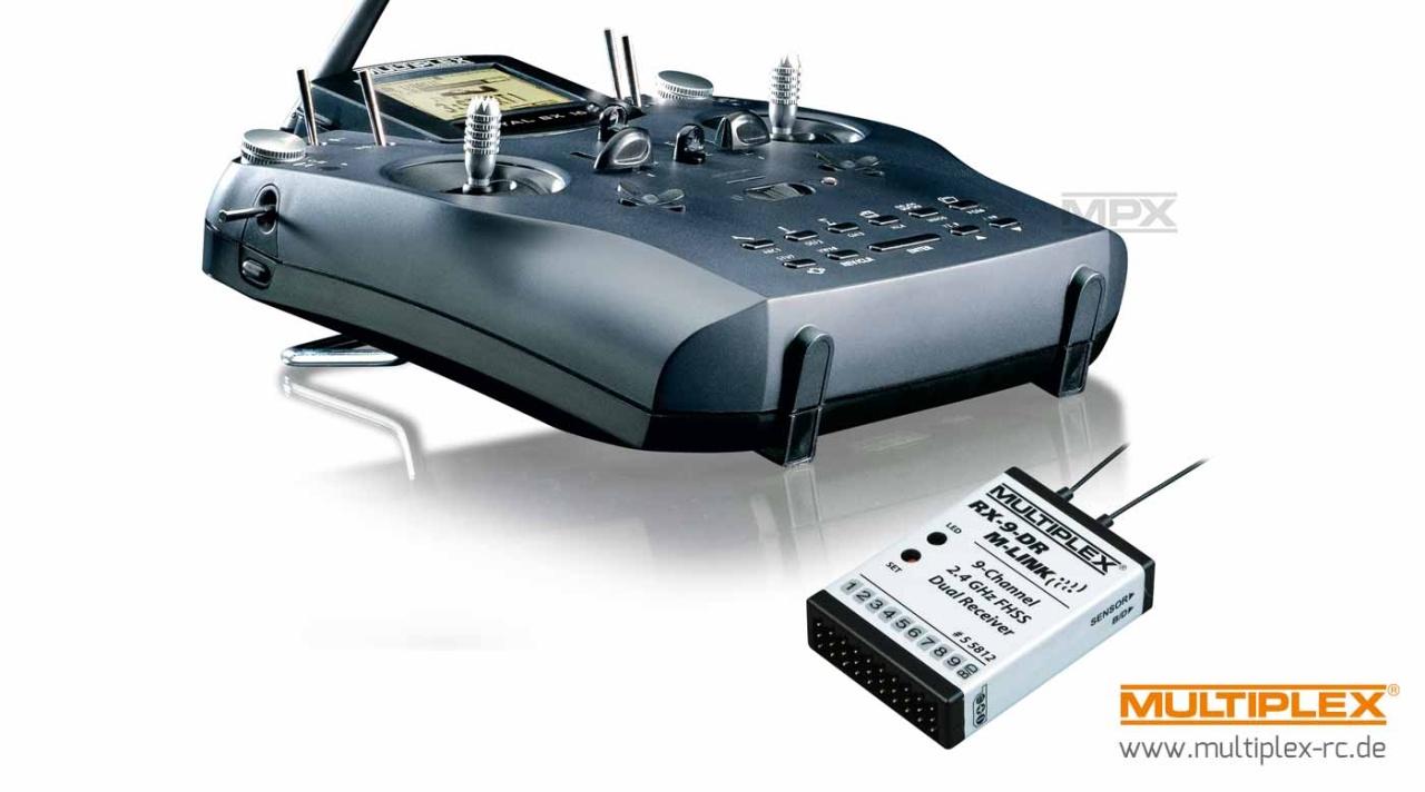 Multiplex ROYAL SX -elegance- 9-Kanal Telemetrie-Set