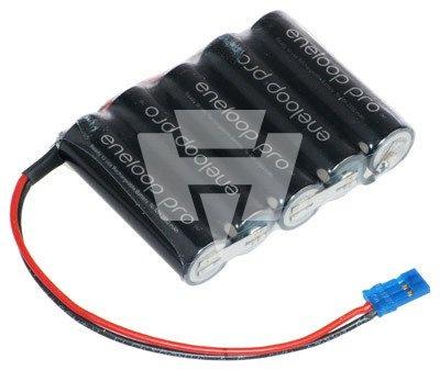 eneloop Pro AA-Reihe mit 5 Zellen 6,0 Volt 2450 mAh