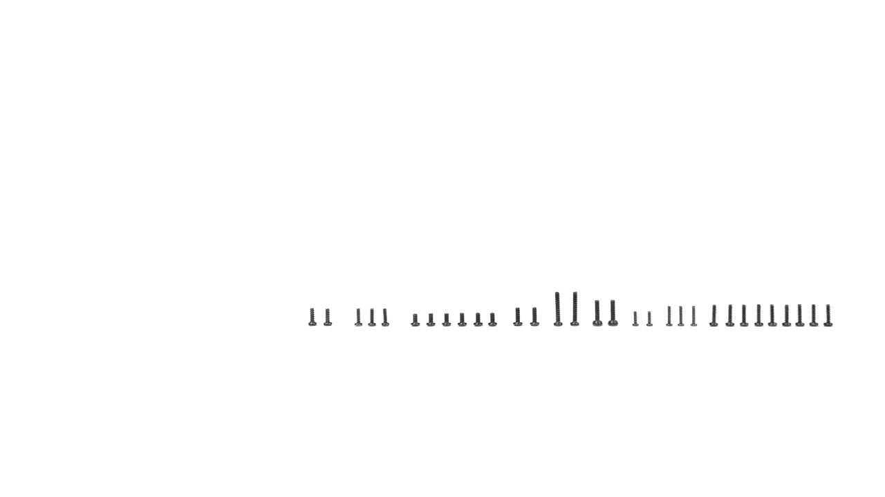 EAZY RC PATRIOT - Schrauben Set
