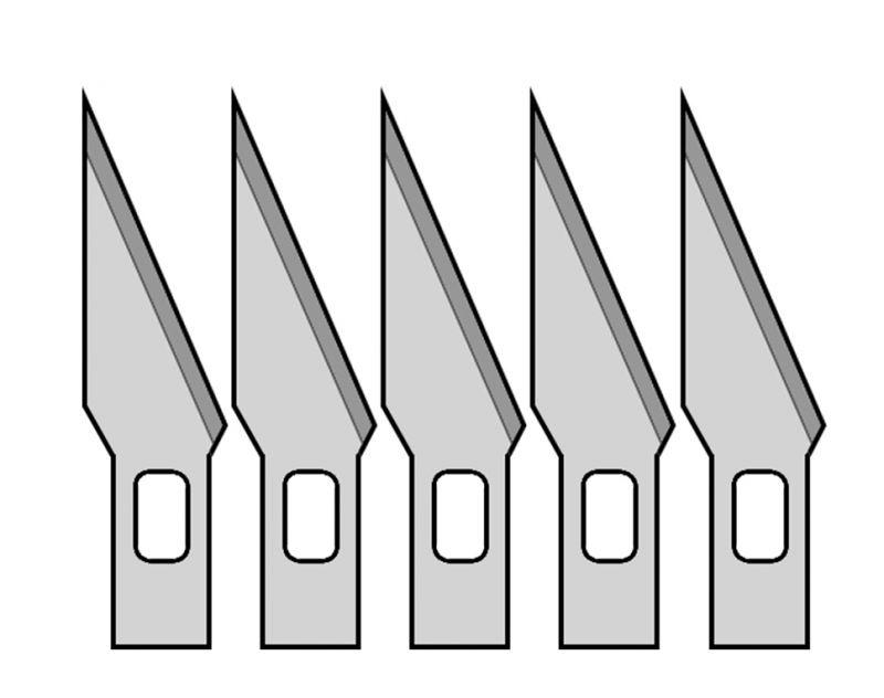 Donau MS05 - 5 Ersatzmesser Nr.1