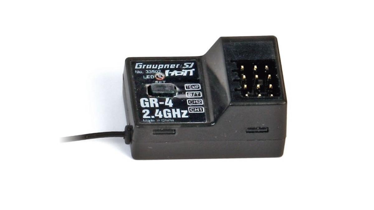 Graupner GR-4 HoTT - 2.4 GHz Empfänger