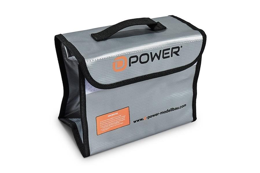 D-Power Lipo Schutz-Tasche mit Tragegriff- Safe Bag