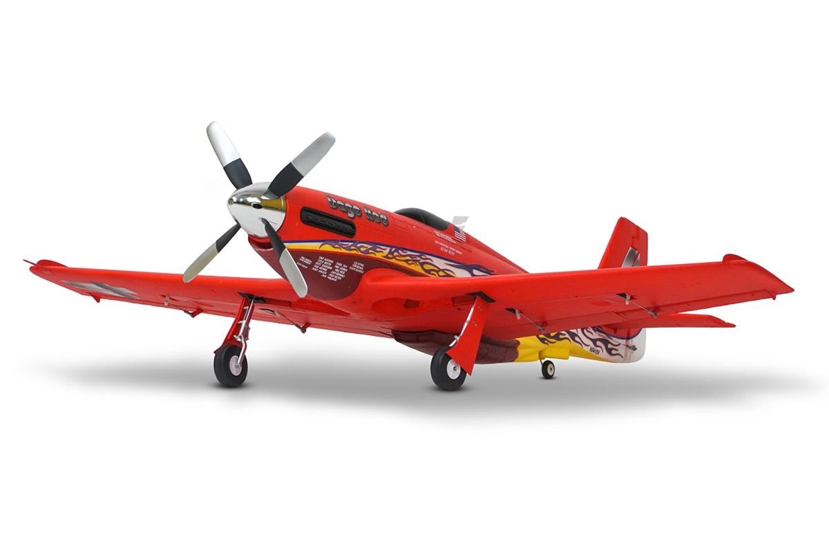 FMS P-51 Dago Red PNP - 110 cm