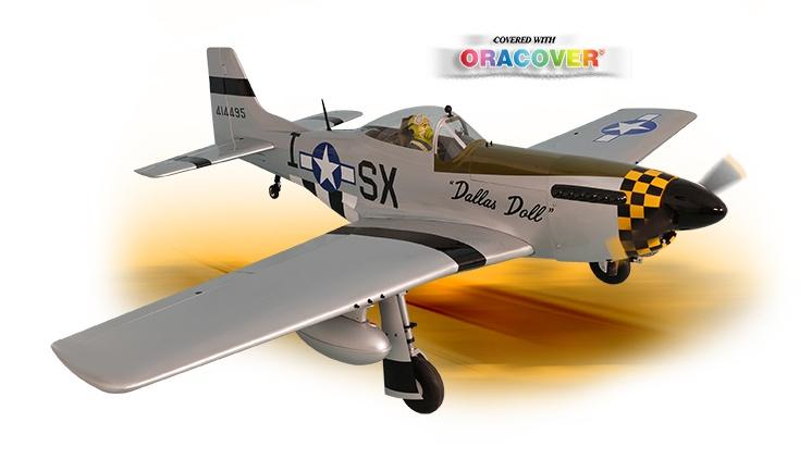 Phoenix P-51 Mustang 50-60cc - 219 cm