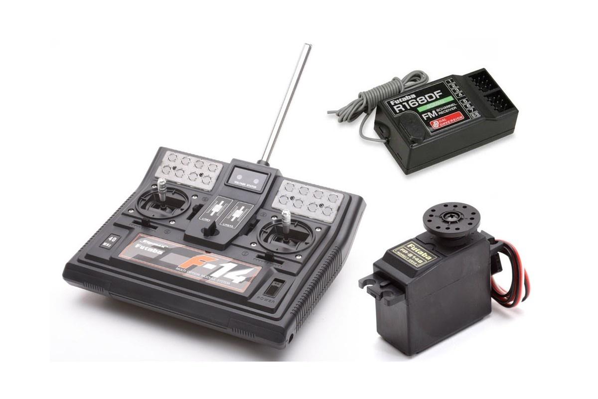 FUTABA F14 40 MHz + R168DF 4/8/1