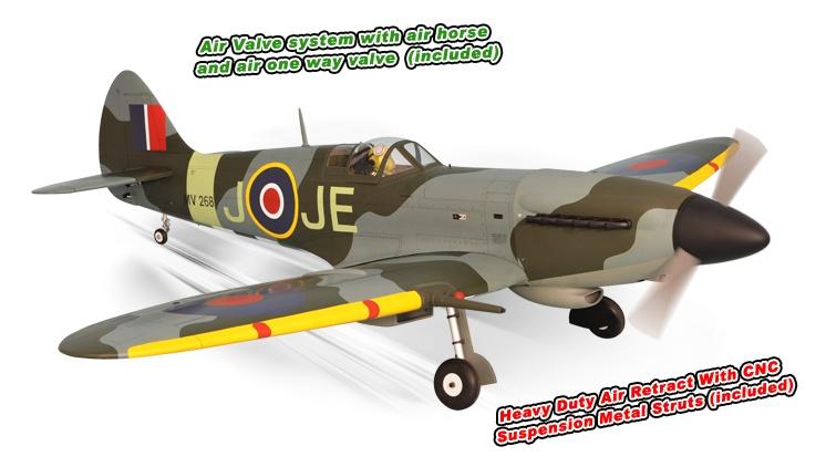 Phoenix Spitfire 61cc - 241 cm