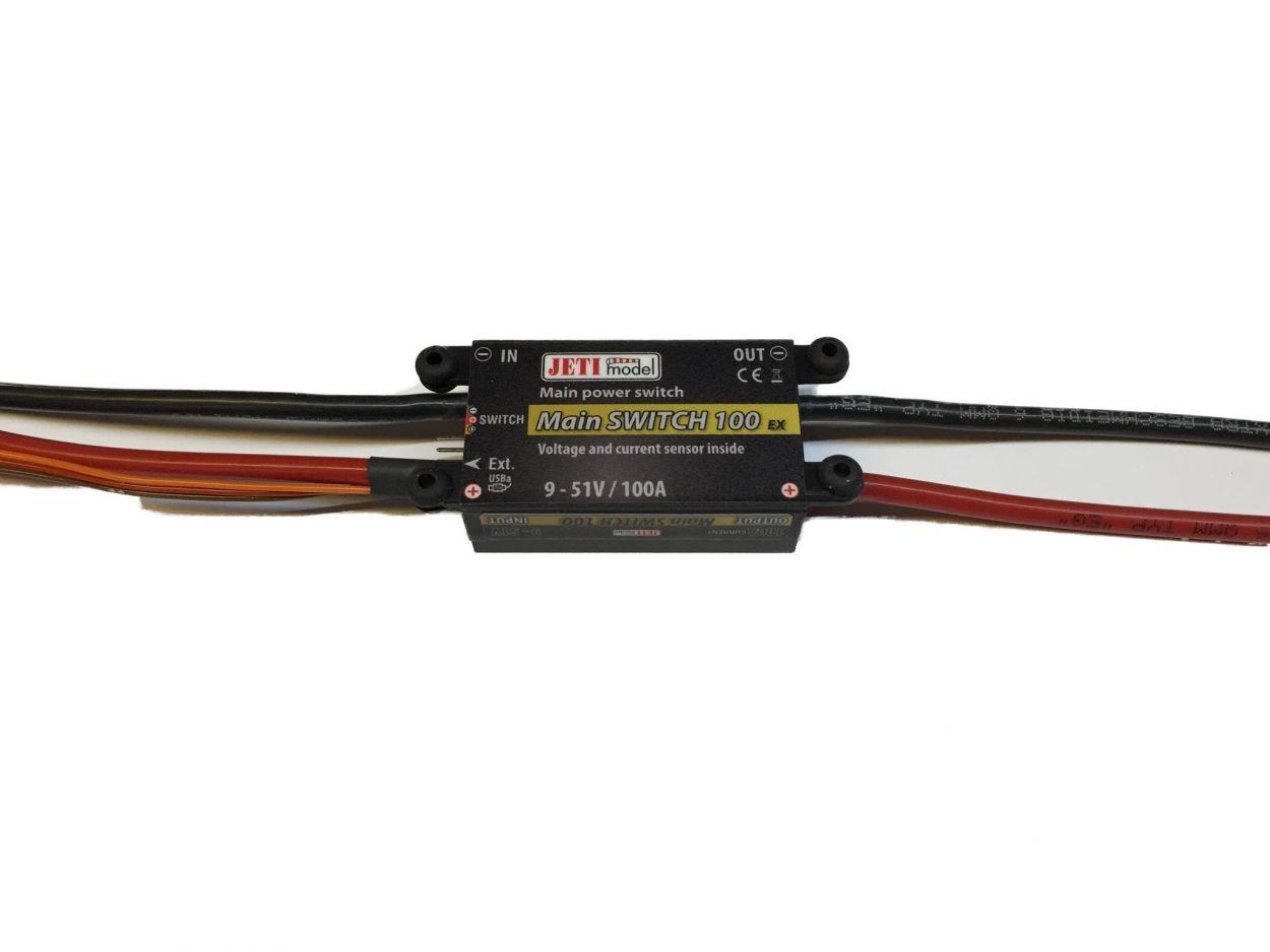 Jeti RC Main Switch 100 MS