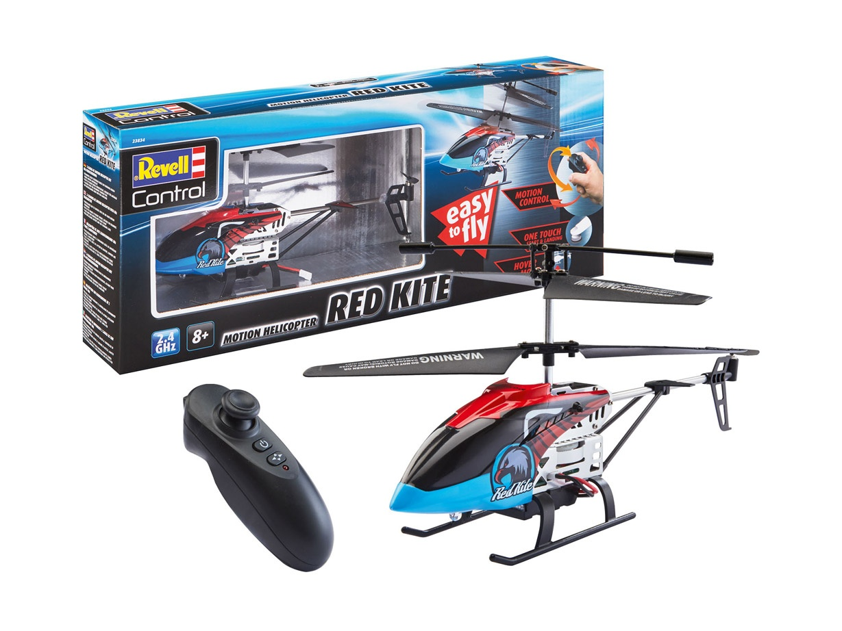 Revell Motion Helicopter RED KITE