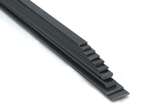 Carbon Flachstab  15,0 x 3,0 mm