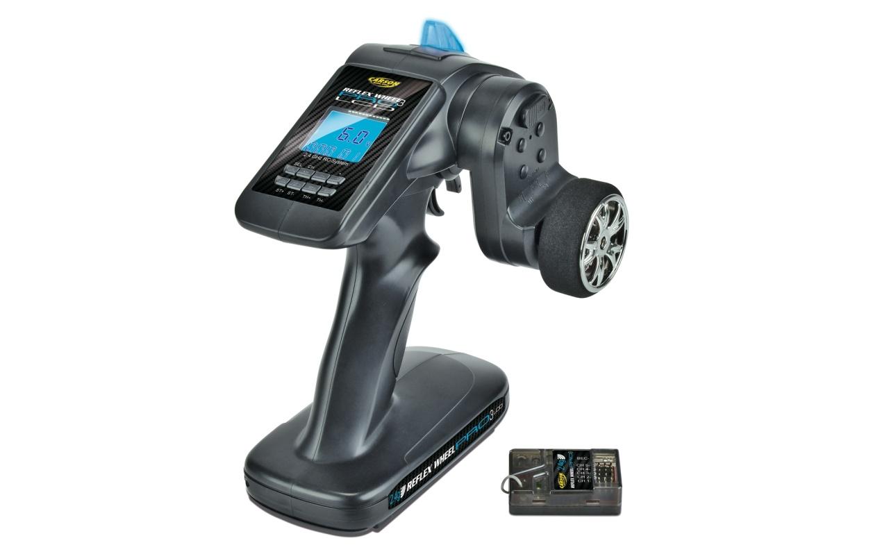 Carson Reflex Wheel Pro III LCD 2.4 GHz BEC