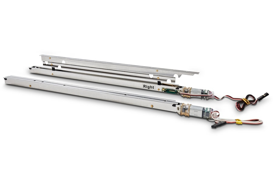 D-Power elektrische Störklappen 260mm (Paar)