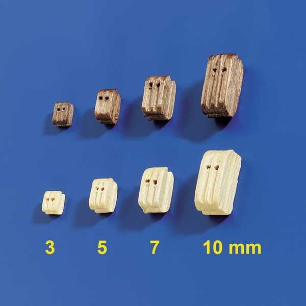 Krick Doppelblöcke 3mm (10 Stück)
