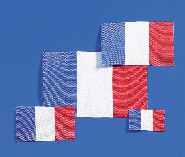Krick Flagge Frankreich 27x40 mm 2 Stück