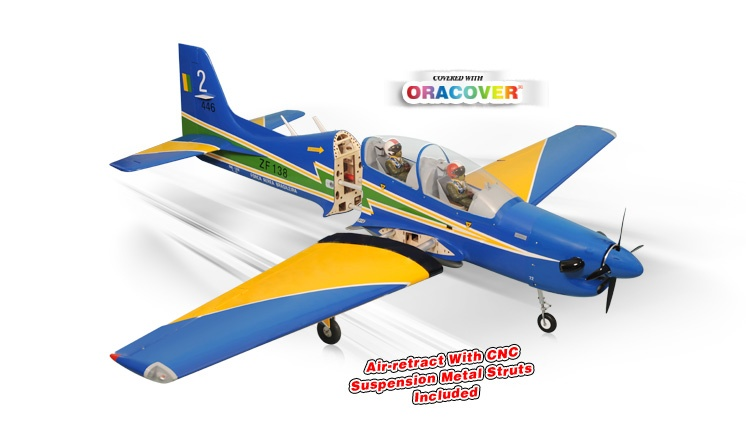 Phoenix Vulcano - 55ccm - 256 cm