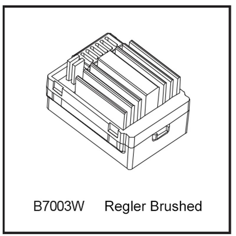 Fahrtenregler 40A Brushed - BEAST BX / TX