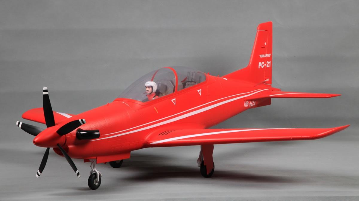 FMS Pilatus PC-21 PNP - 110 cm - Combo incl. Reflex Gyro
