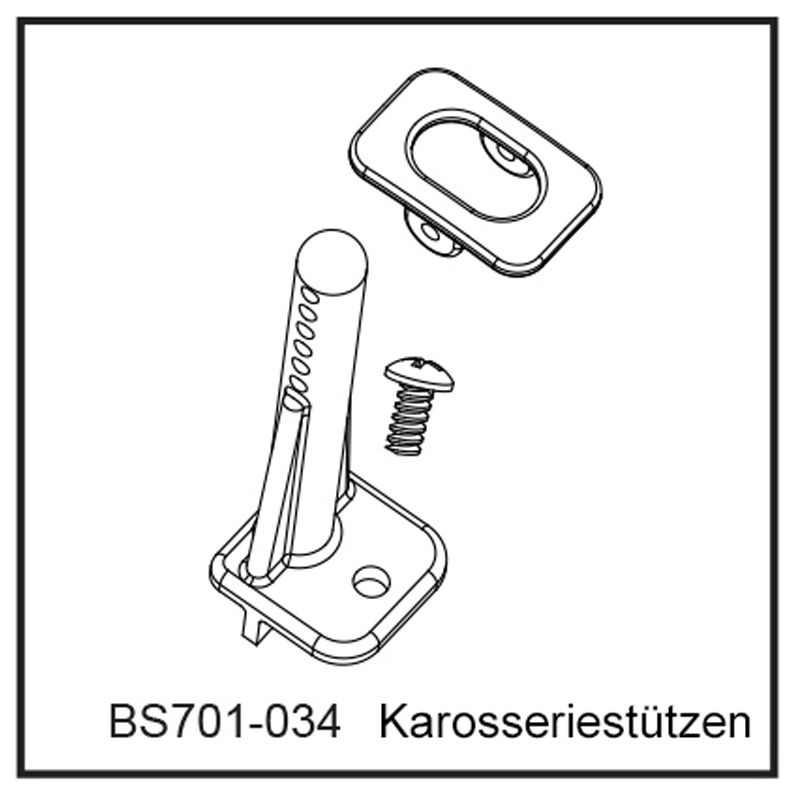 Karosseriestützen - BEAST BX