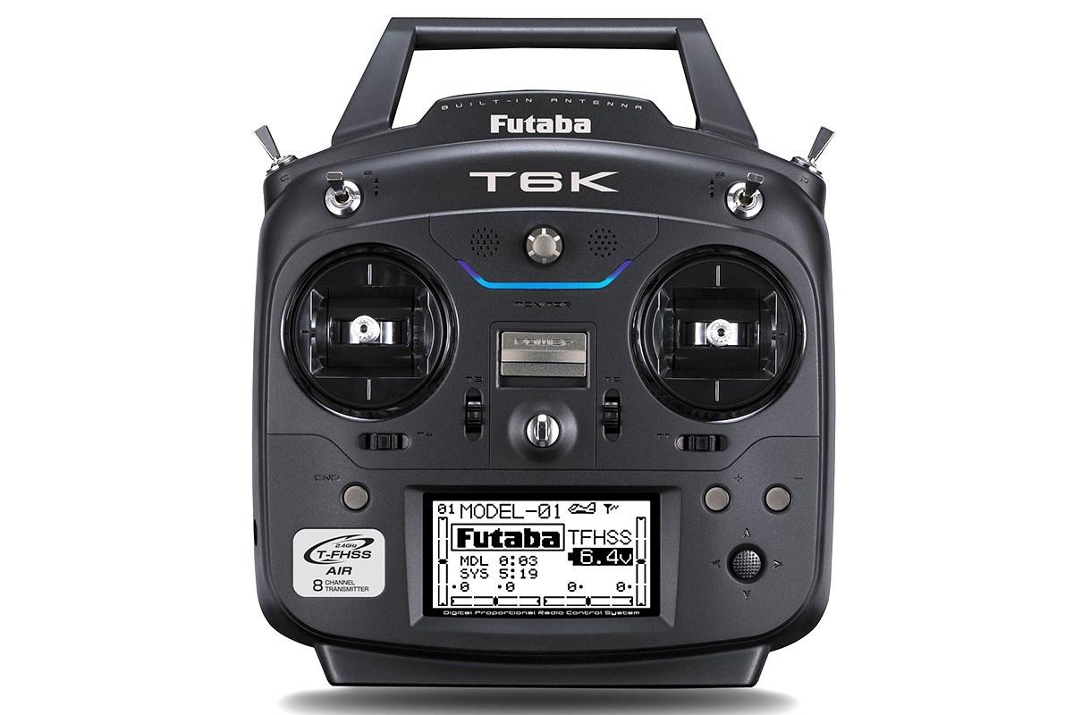 FUTABA T6K V2.0 8-Kanal FS 2.4GHz T-FHSS+R3006SB