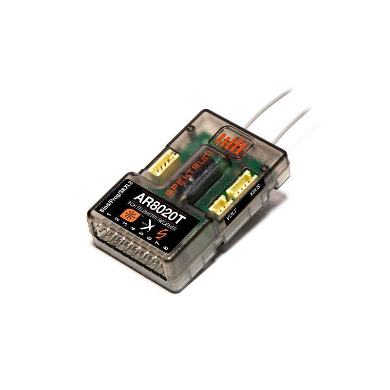 Spektrum AR8020T 8-Kanal Empfänger mit Telemetrie