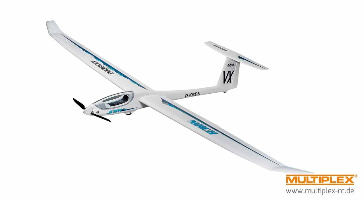 Multiplex RR Heron mit BL-Antrieb