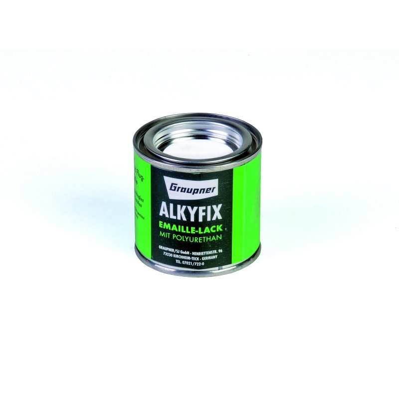 Graupner Alkyfix Emaillelack weiß 100ml