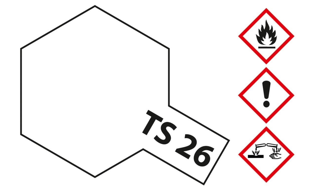 Tamiya TS-26 Weiss glänzend Acryl 100ml