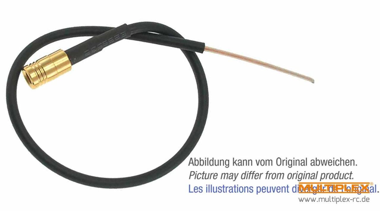 Multiplex Antenne 2,4GHz für M-LINK RX light und DR 150 mm