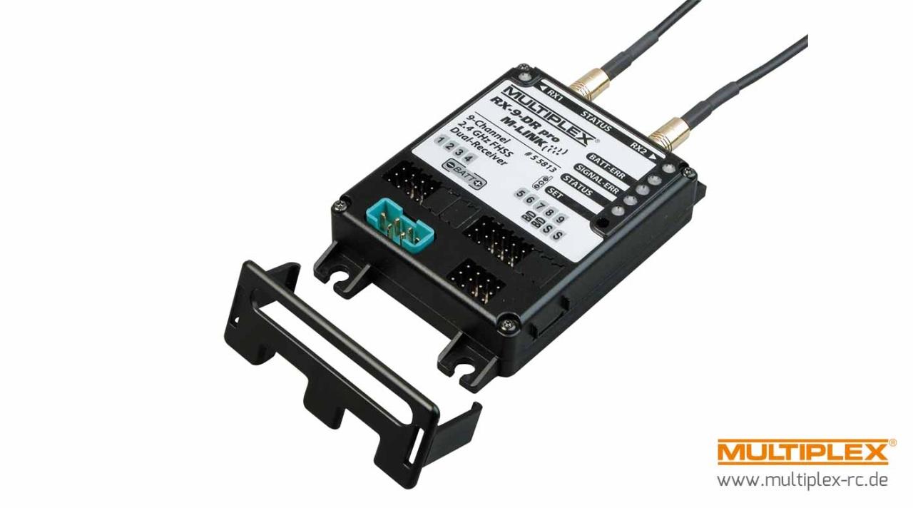 Multiplex Empfänger RX-9-DR pro M-LINK 2,4 GHz
