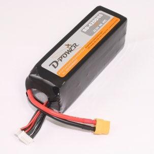 D-Power SD-4200 6S Lipo (22,2V) 45C - mit XT-60 Stecker