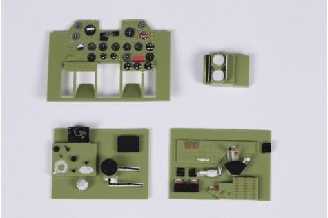 FMS P-47 Razorback - Cockpit Instrumente