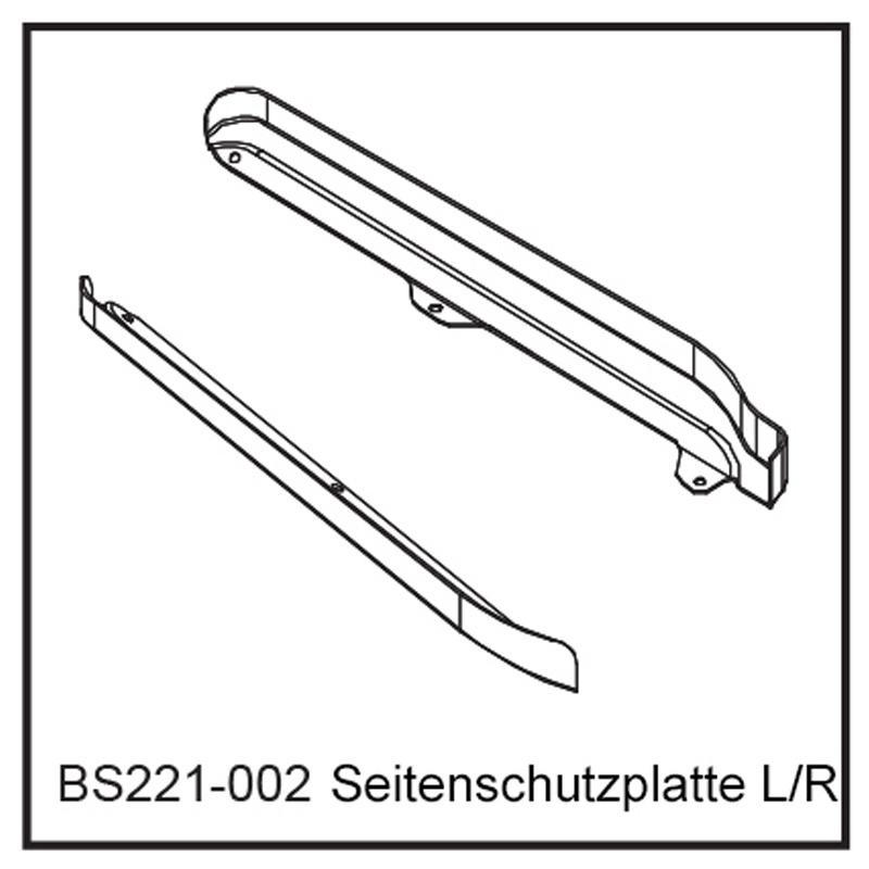 Seitenschutzplatte - BEAST BX / TX