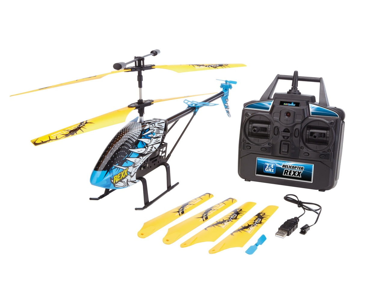 Revell Helicopter REXX