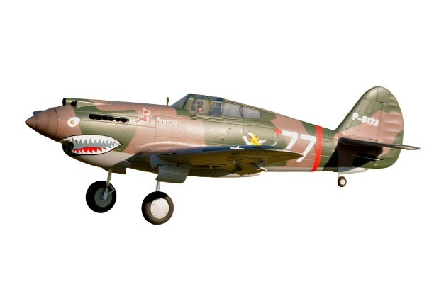 FMS P-40B Curtiss Warhawk Flying Tiger PNP - 140 cm - Combo