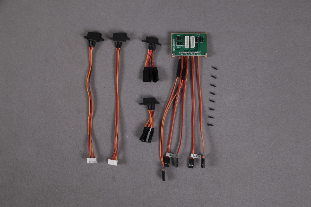 FMS Super Scorpion - Multi-connector System