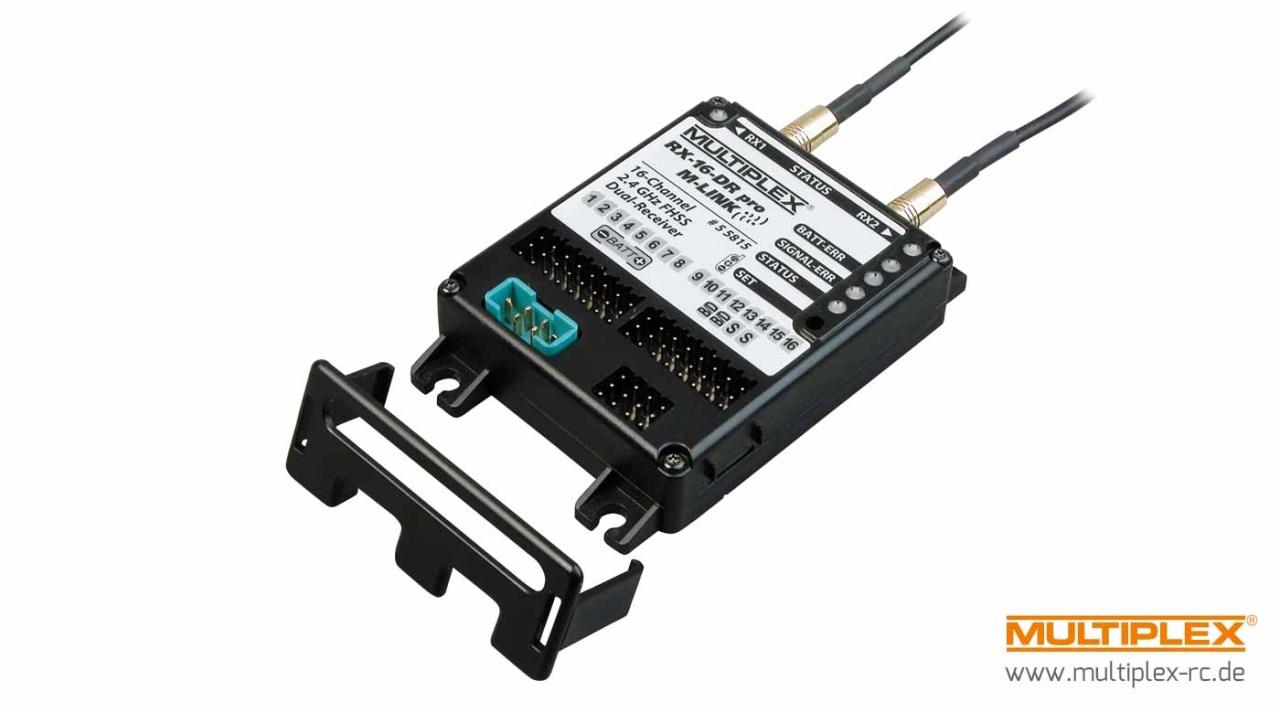 Multiplex Empfänger RX-16-DR pro M-LINK 2,4 GHz