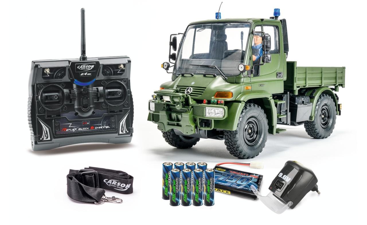 Carson 1:12 MB Unimog U300 Militär 2,4GHz 100% RTR