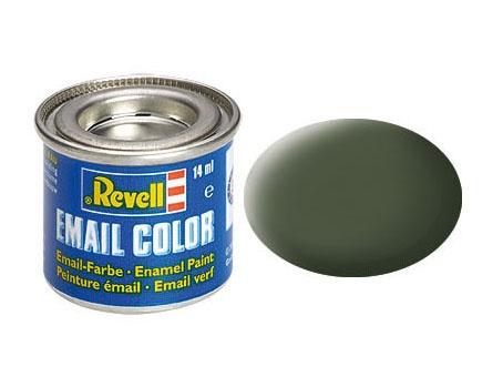 Revell Email Color Bronzegrün, matt, 14ml, RAL 6031
