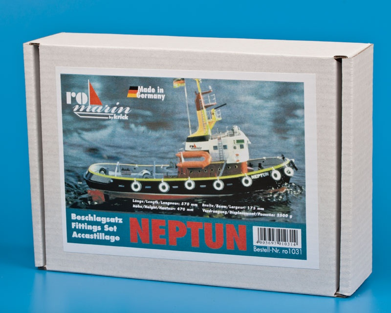 Krick Neptun Beschlagsatz