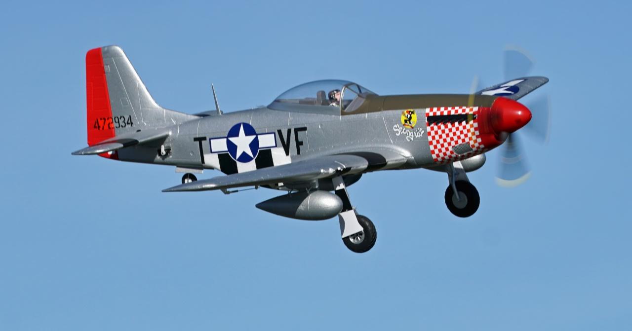 Arrows P-51 Mustang PNP - 110 cm