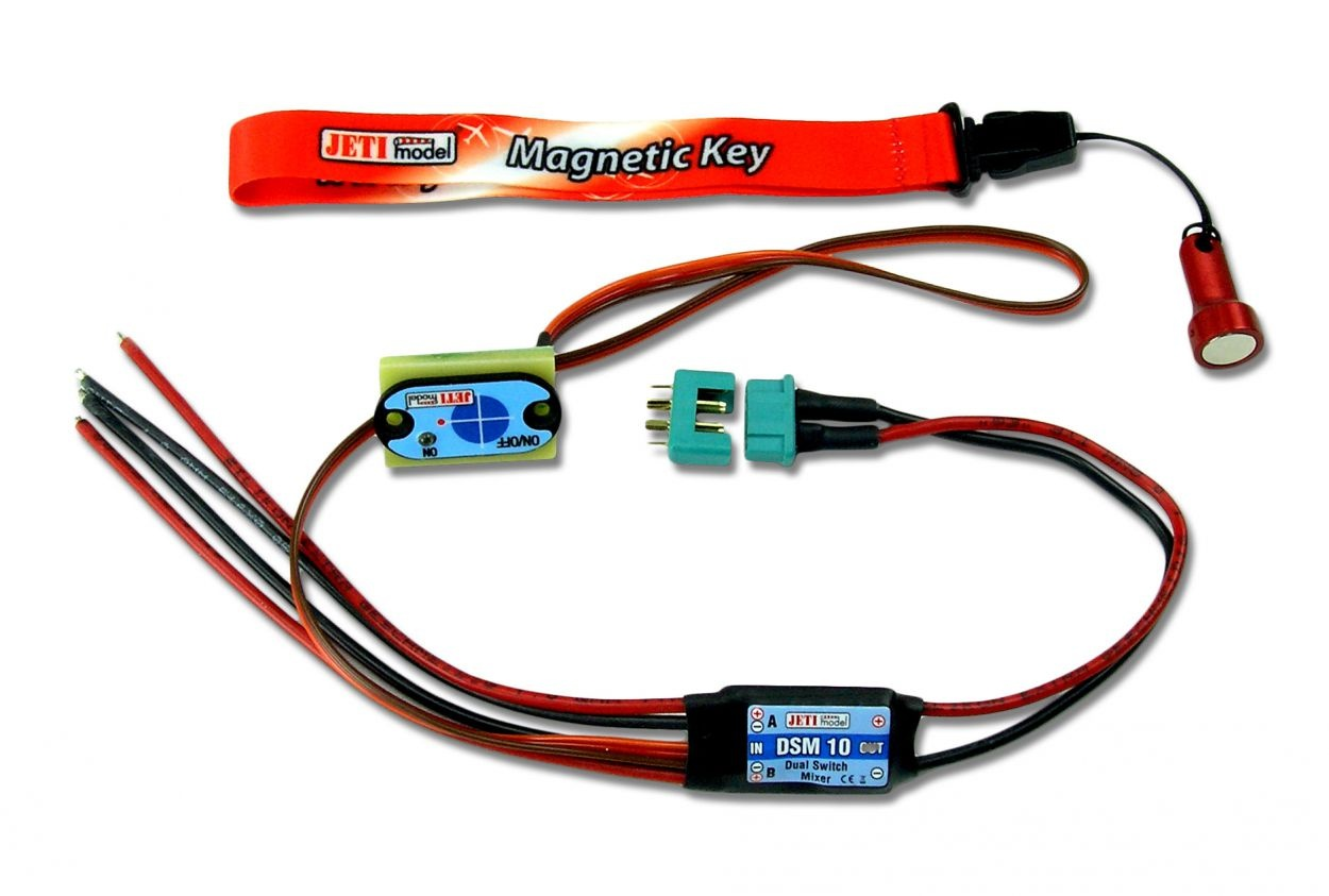 Jeti DSM 10 - Dual switch Mixer