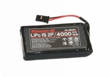 Graupner Senderakku LiPo 1S2P/4000 TX