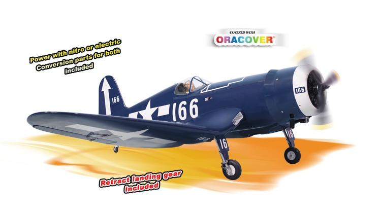 Phoenix F4U Corsair - 180cm